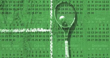 calendário do tênis e ranking de pontos da atp